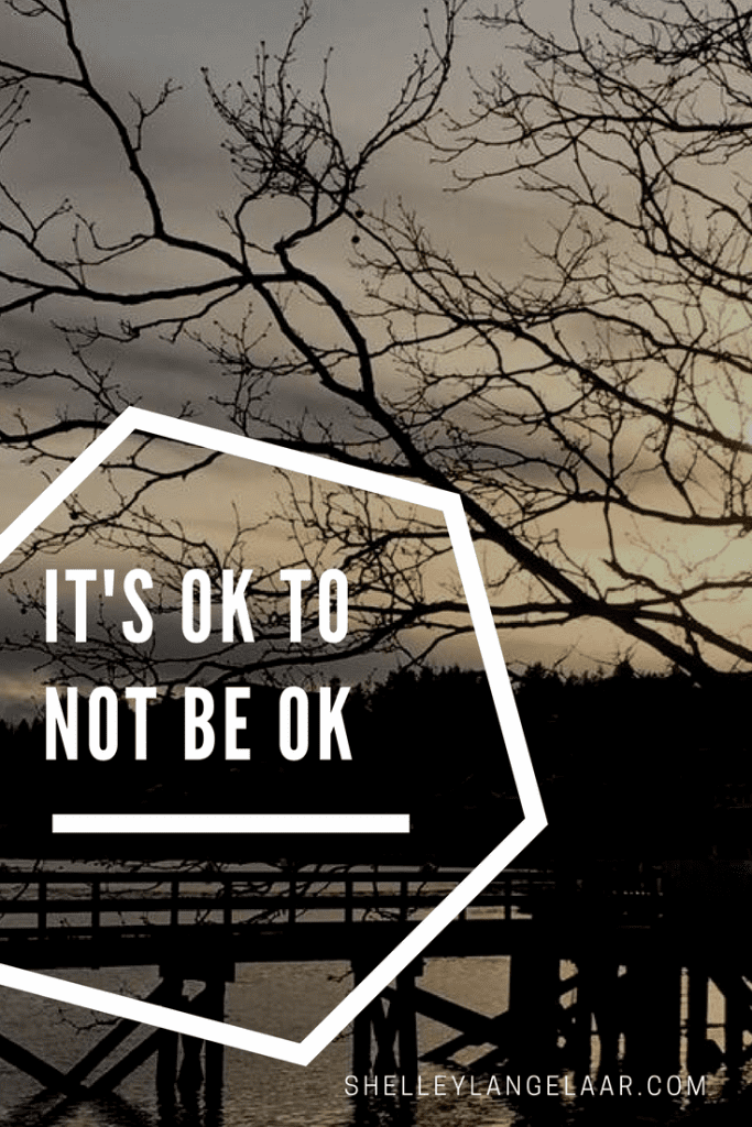 It's ok to not be ok spiritual journey