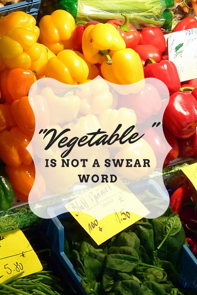 Vegetable is not a swear word oven fajitas