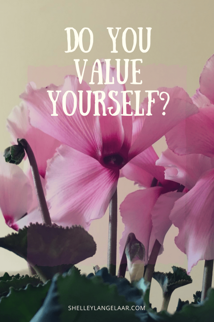 Value yourself self worth