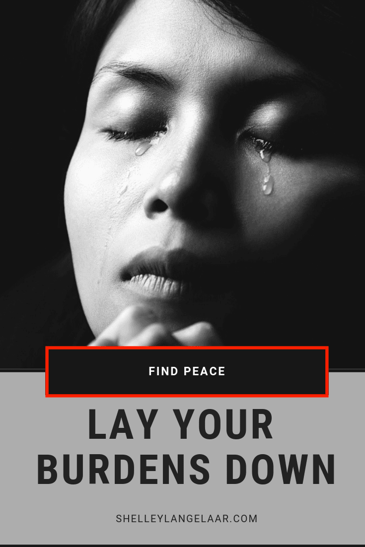 Surrender lay down your burdens