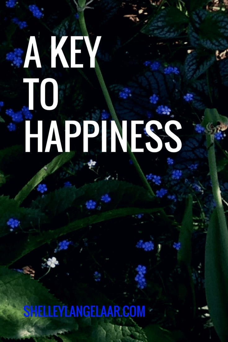 A Key to Happiness