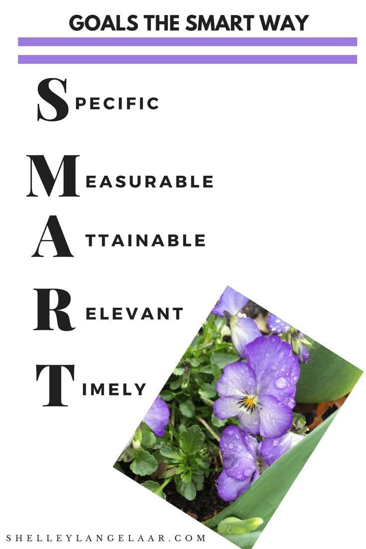 Goals the SMART Way