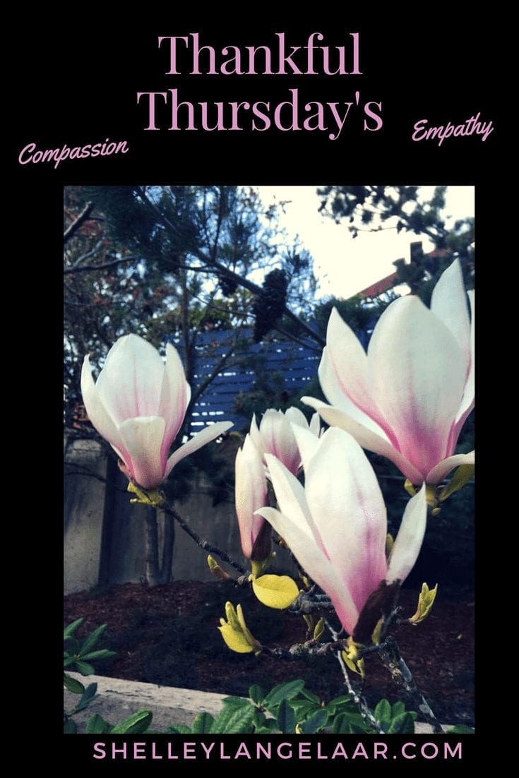 Thankful Thursdays – compassion and empathy