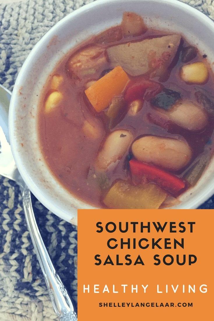 Southwest Chicken Salsa Soup – Healthy Living
