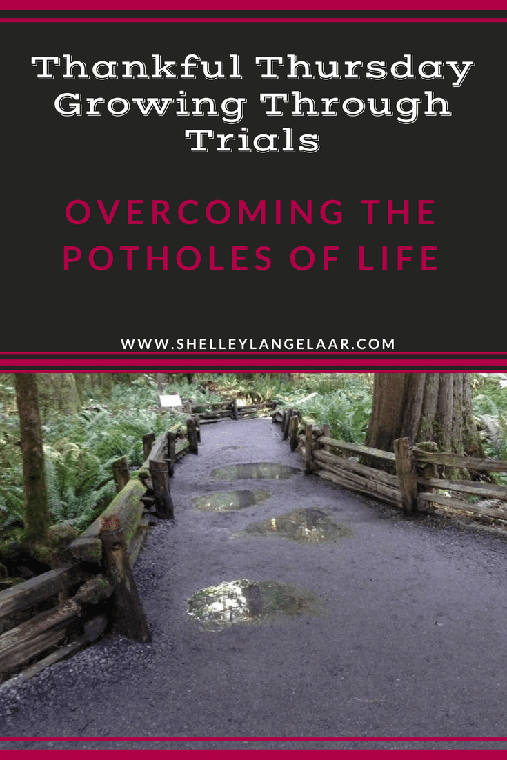Thankful Thursday ~ Growing Through Trials and Difficulties