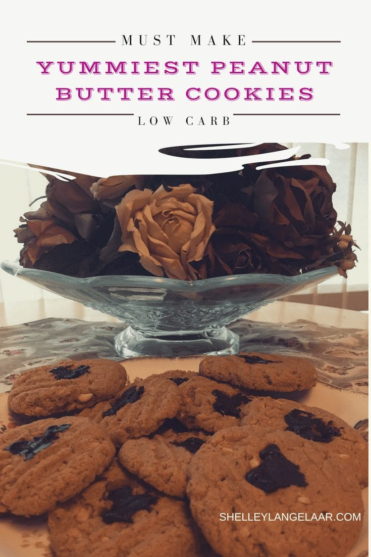 The Yummiest Low Carb Peanut Butter Cookies