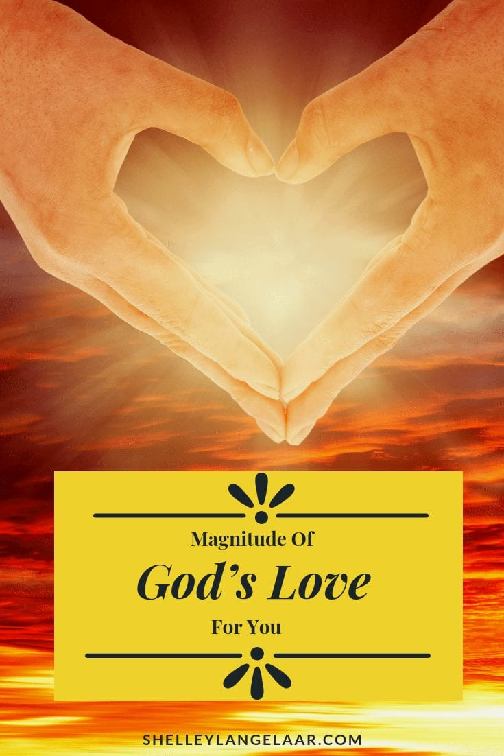 Magnitude of God's Love for you