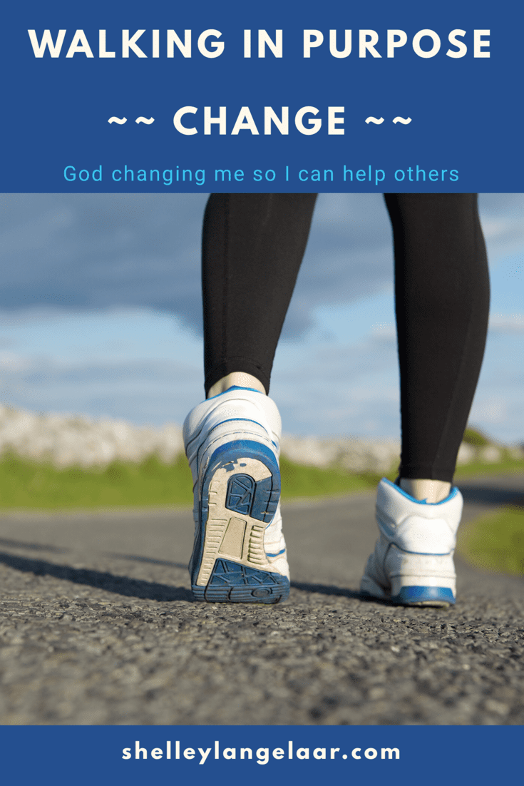 Walking in Purpose – Change Me