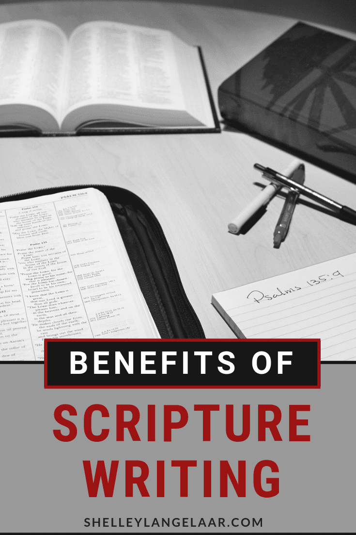 Benefits of scripture writing