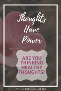 Changing negative thinking to positive thinking