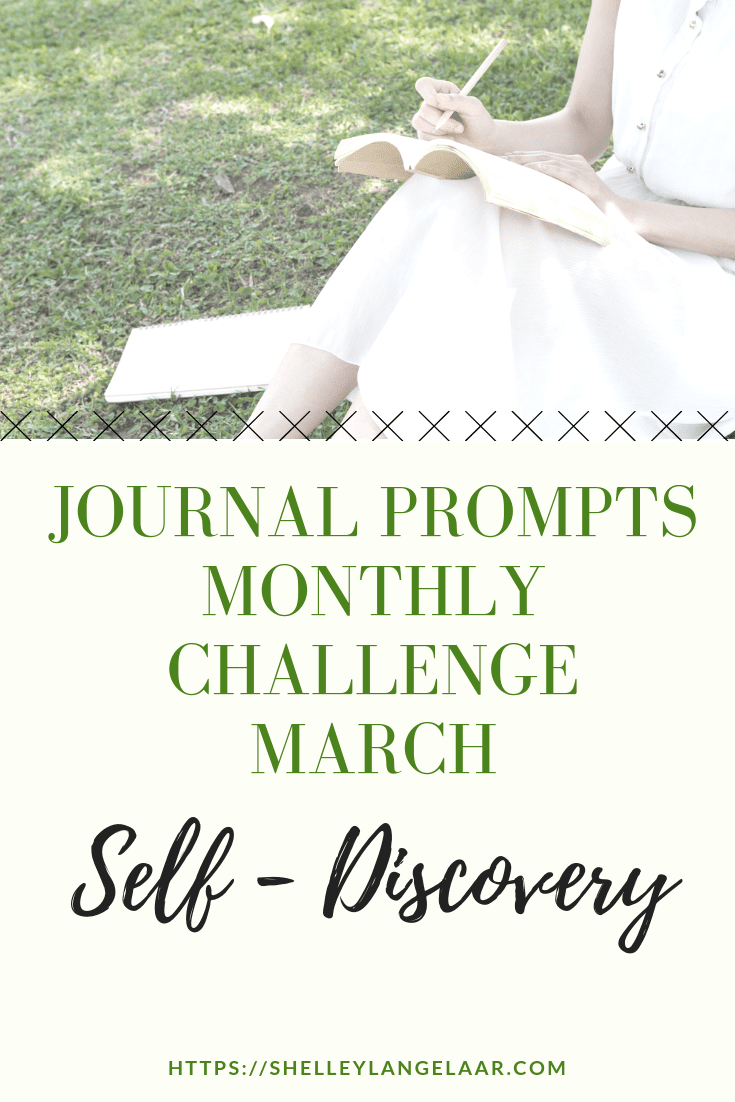 Monthly Journal  Challenge – March Prompts