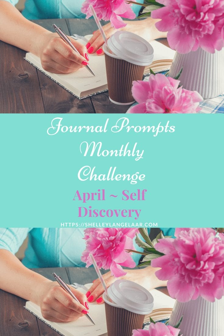Monthly Journal Challenge – April Prompts