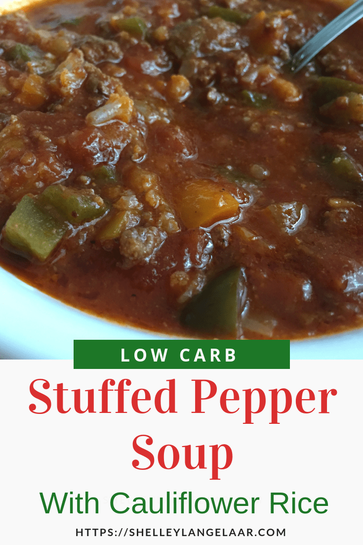 Low Carb Stuffed Pepper Soup recipe