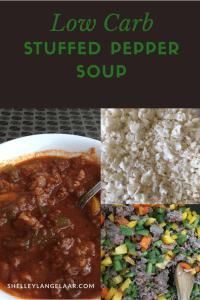 Stuffed pepper soup recipe low carb