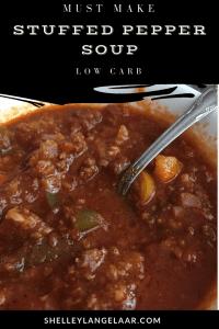 Low Carb Stuffed Pepper Soup recipe