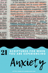 21 bible verses to help with anxiety