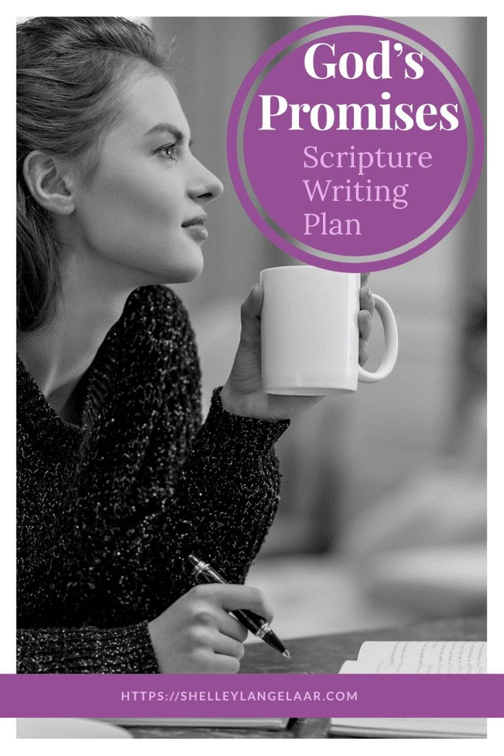 Scripture Writing plan God's promises