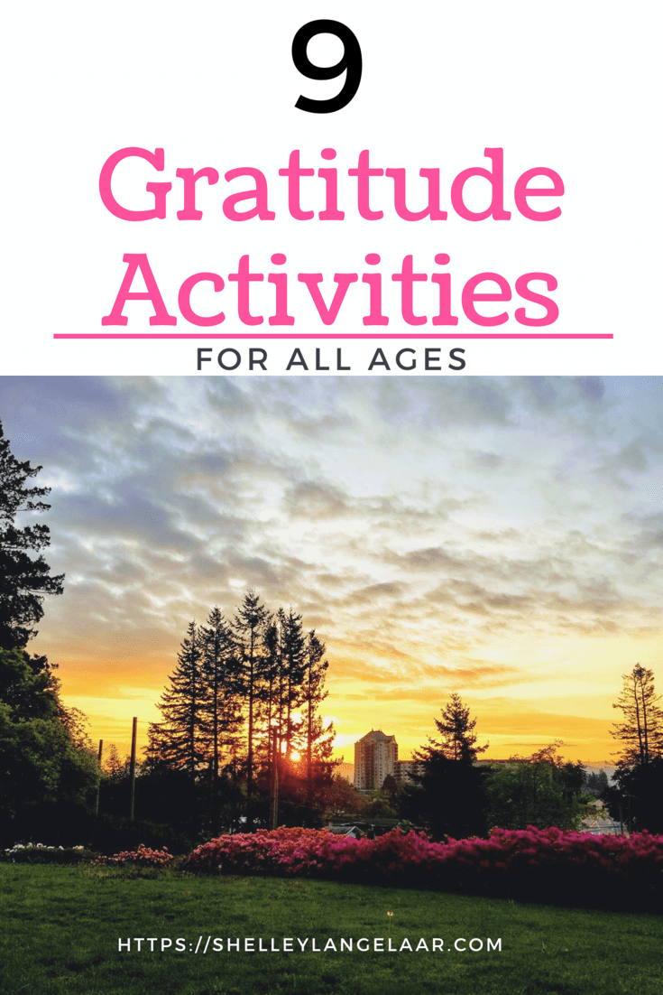 9 Gratitude Activities For All Ages