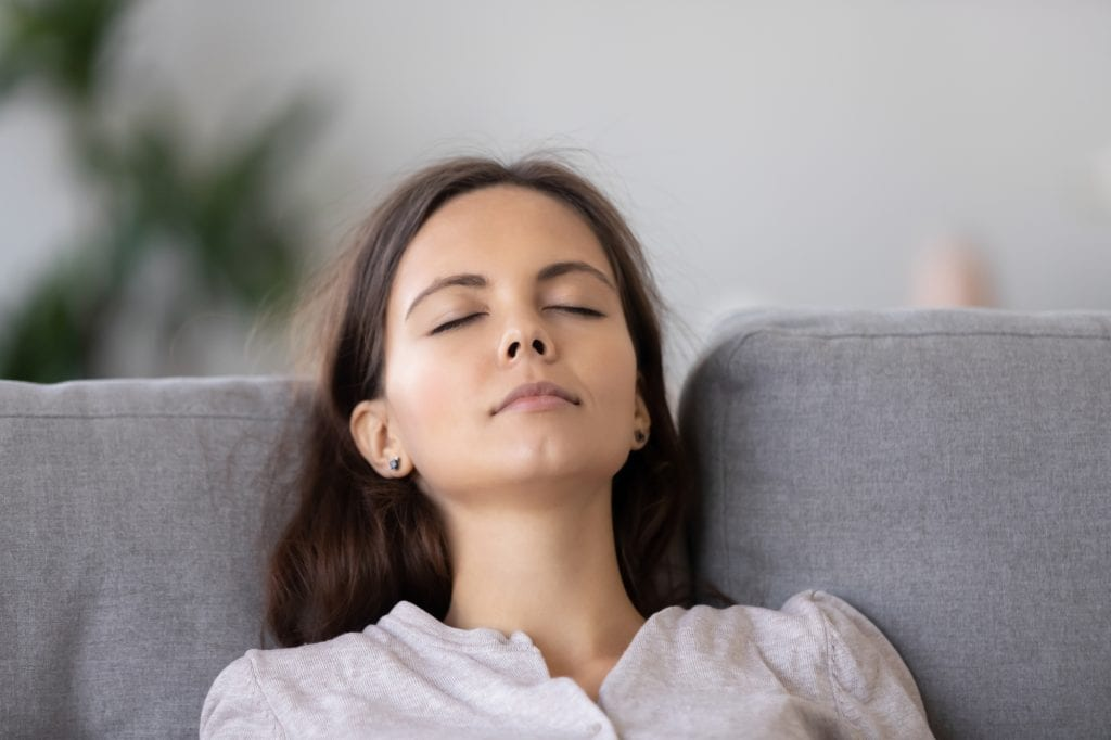 Deep breathing exercises to combat stress