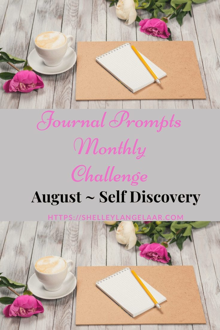August journal prompts challenge
