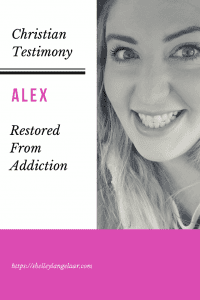 Christian Testimony Alex restored from addiction