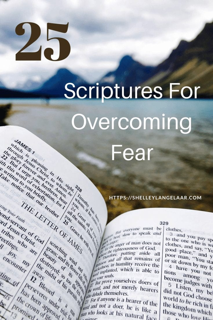 25 bible verses to overcome fear