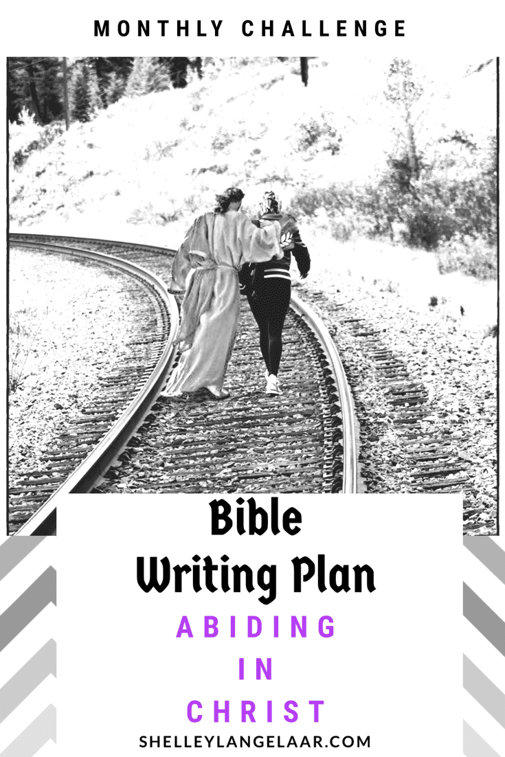 Scripture writing plan Abiding in Christ
