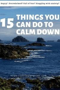 15 ways to calm down