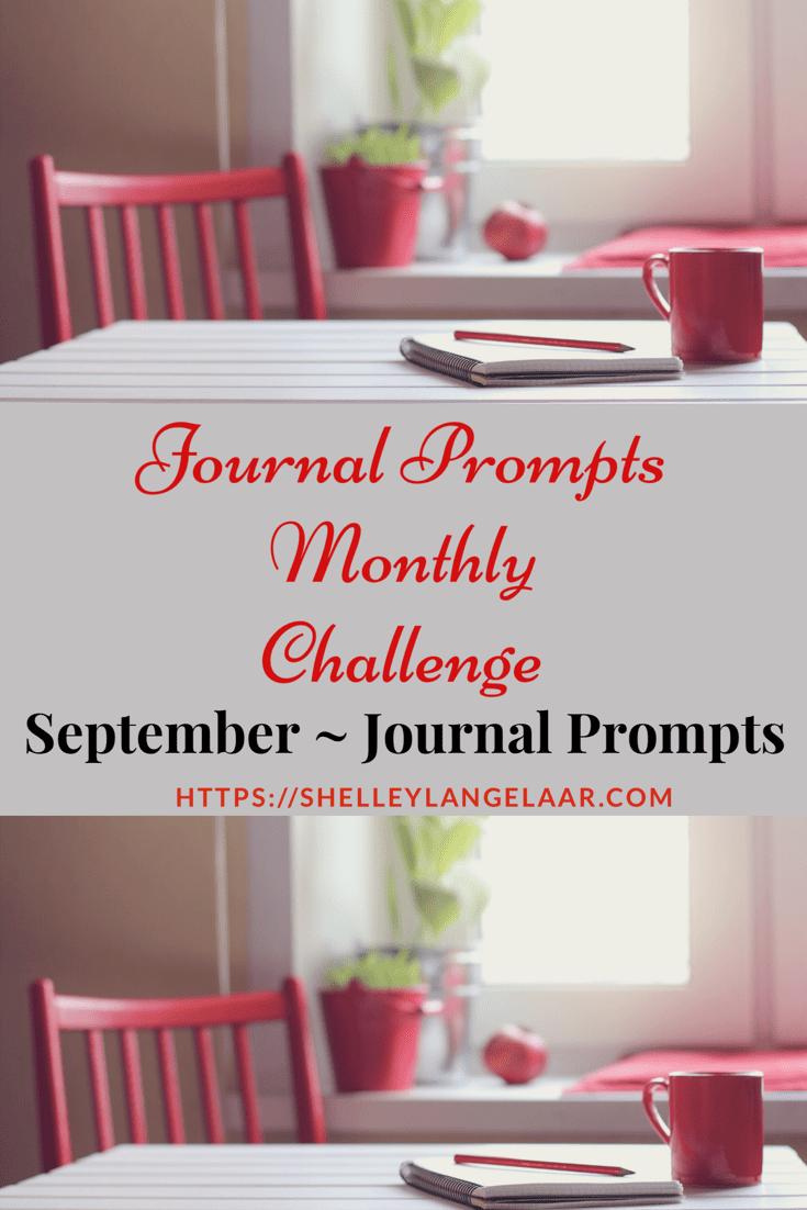 September Journal Prompts Plan