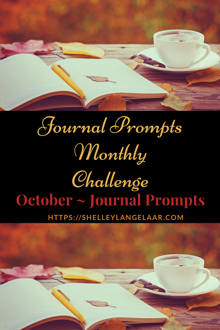 October Journal Prompts – Monthly Challenge