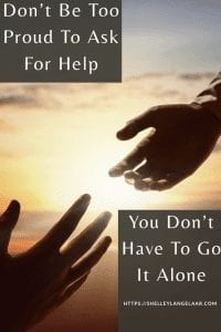 You don't have to goi it alone