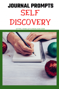 Self discovery journal prompts for December