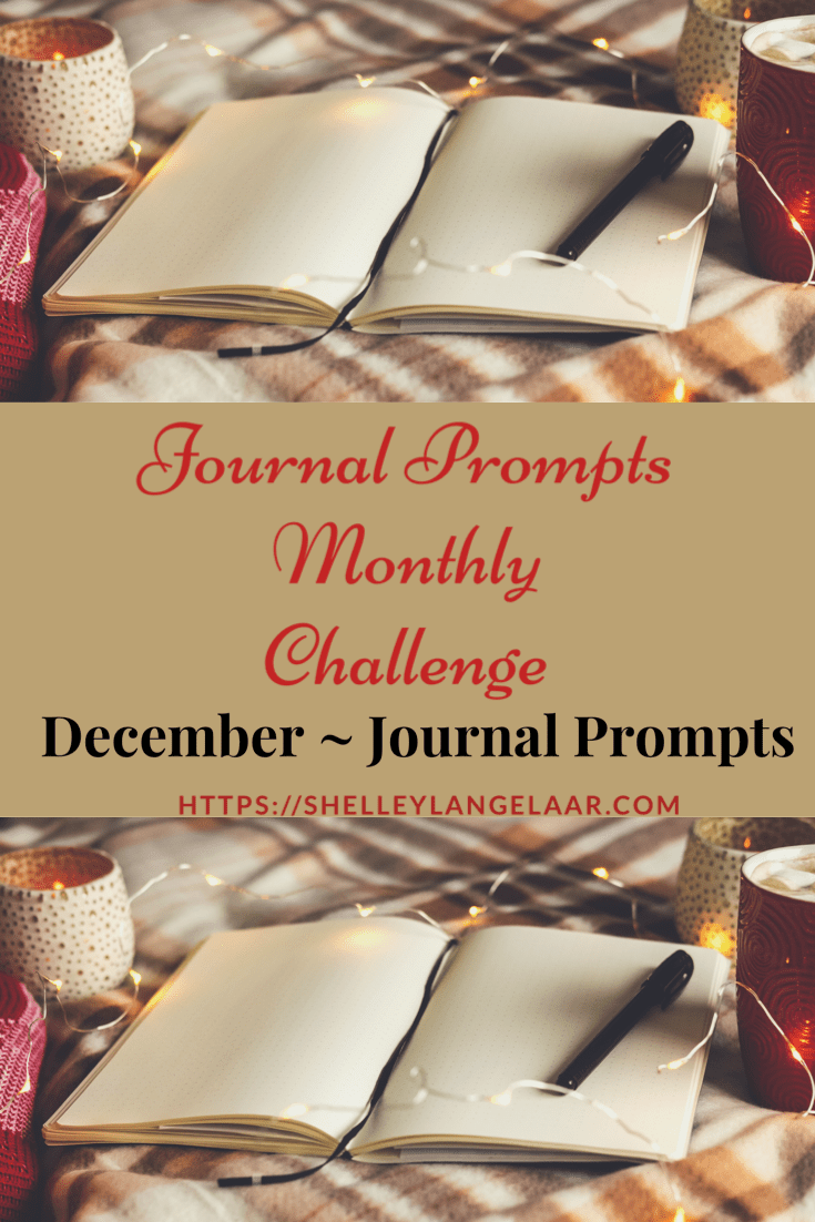Monthly Journal Writing — December Journal Prompts