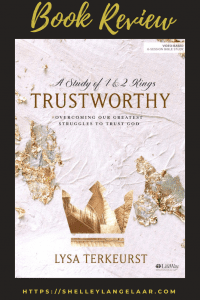 Book Review - Trustworthy by Lysa Terkeurst