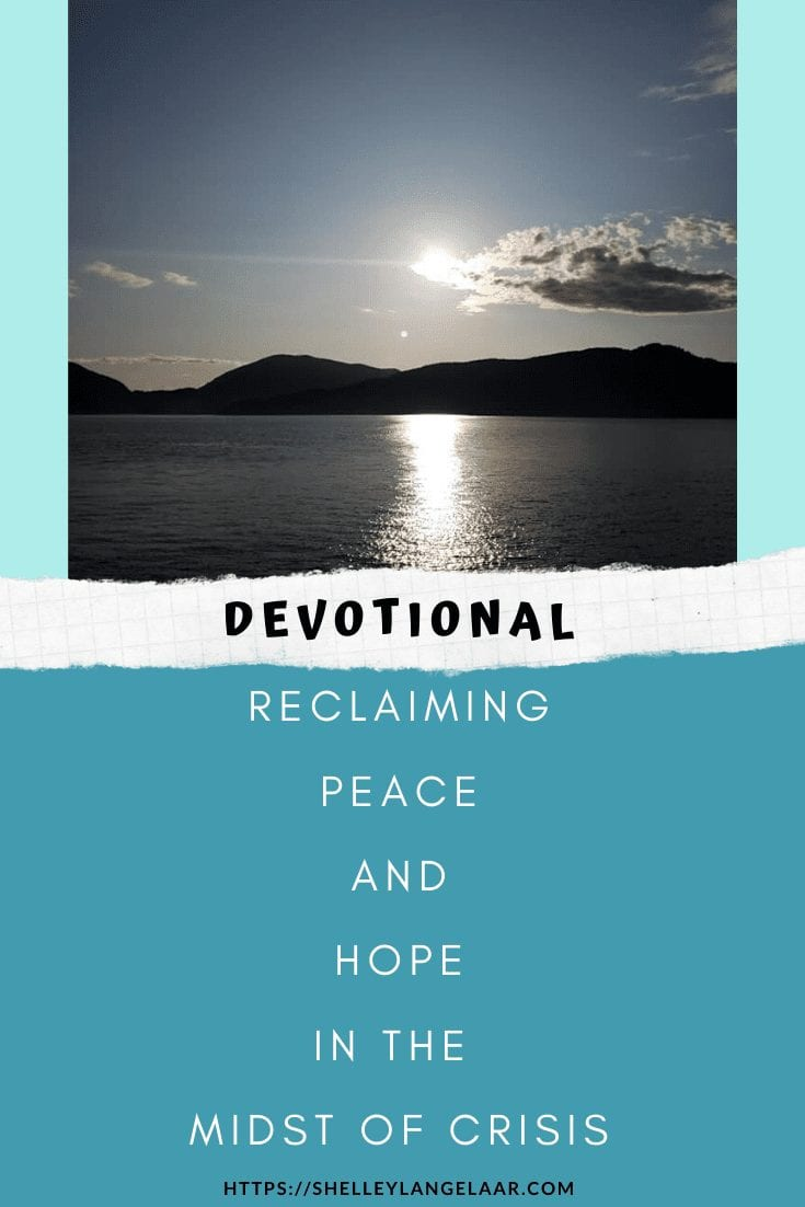 Reclaiming peace and hope in the midst of covid-19