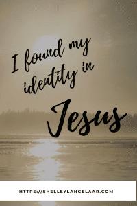 Identity in Jesus