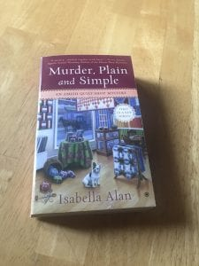 Murder Plain and Simple - cozy mystery